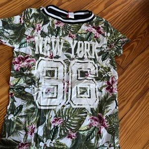 New york floral jersey